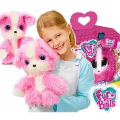 Peluche Fur Balls Pink - Adoptalo, Lavalo y Descubrelo