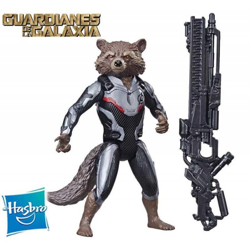 Muñeco Rocket Raccoon - Hasbro - Titan Hero Series