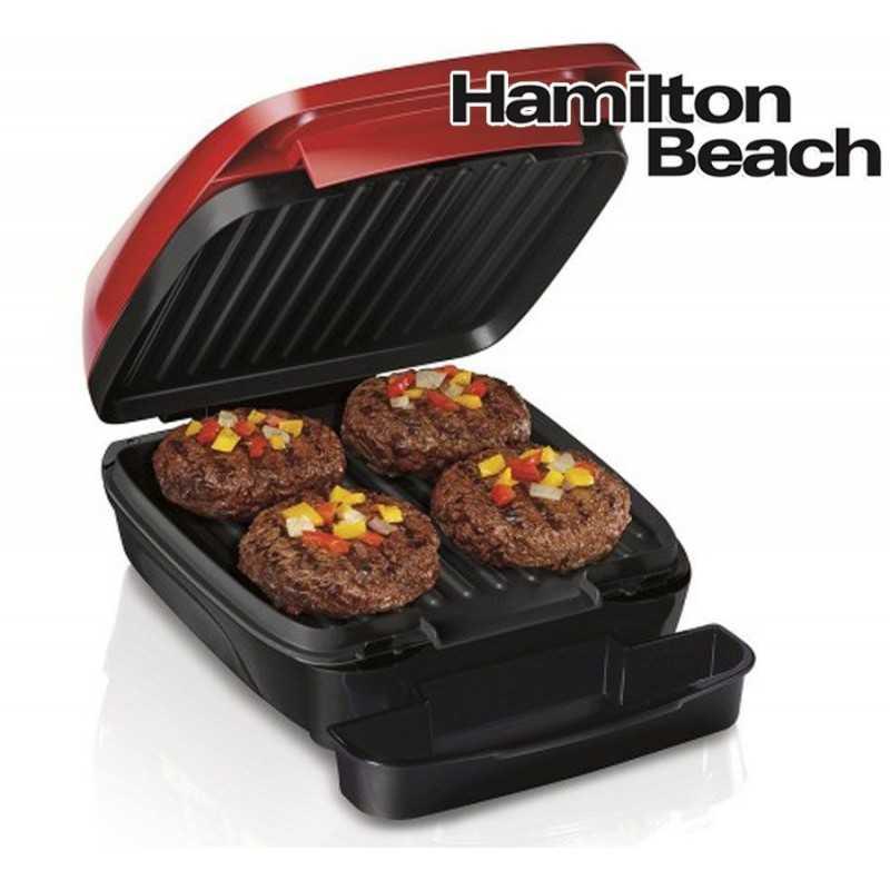 Grill Electrico - Hamilton Beach - 25355 - Rojo