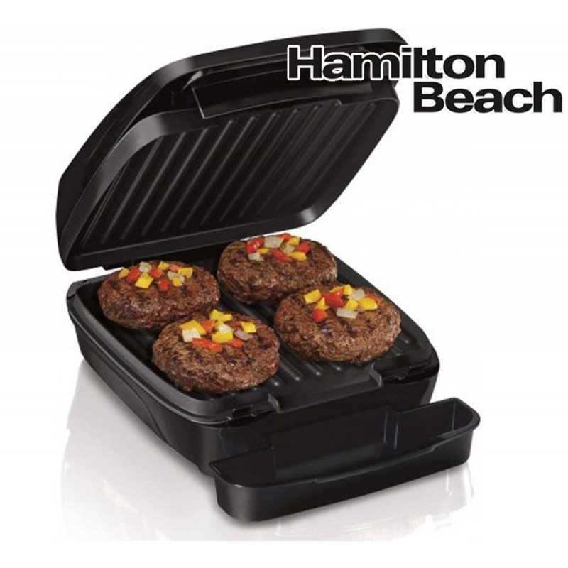 Grill Electrico - Hamilton Beach - 25357 - Negro