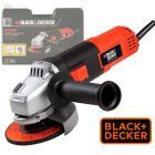 Amoladora Angular 115 mm - 820W con Maletin - Black+Decker - G720K