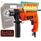Taladro Percutor 13mm - 550W - c/ maletin - Black+Decker - HD555K