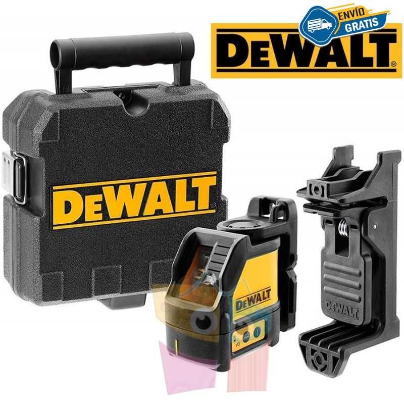 Nivel Laser Horizontal y Vertical Autonivelable - 15 mts - DeWalt - DW088K-AR