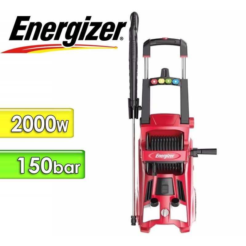 Hidrolavadora 2000W - Presion 150 Bar - Energizer - EZX125-2500