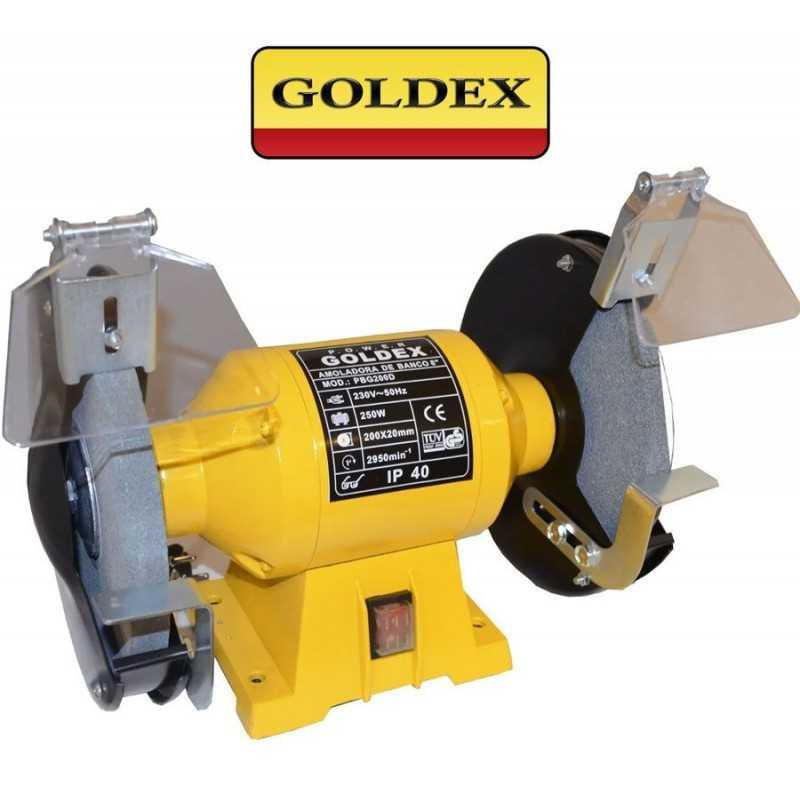 Amoladora de Banco 200 mm - 250W - Goldex - PBG200D