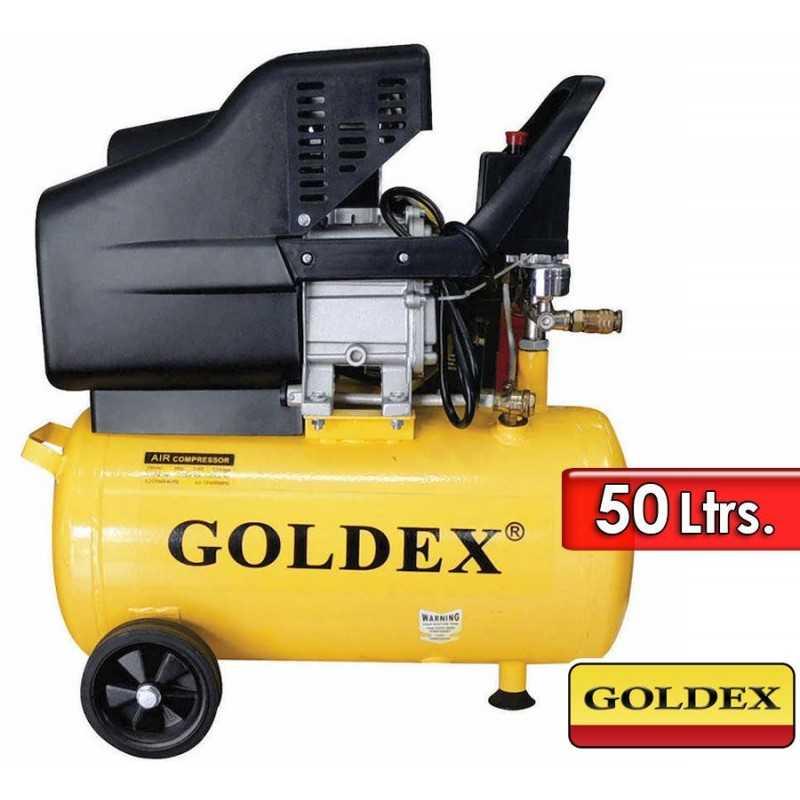 Compresor de Aire - 50 L - 115 PSI - 2 Hp - Goldex - HW-AC6103-50