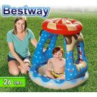 Piscina Infantil Inflable - 26 Lts - 0,91 x 0,91 x H.0,89 Mtr - Bestway - Candyville Playtime - 52270 + Inflador