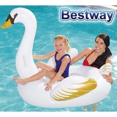 Flotador Cisne Blanco - 1,22 x 1,22 Mtr - Bestway - 41123