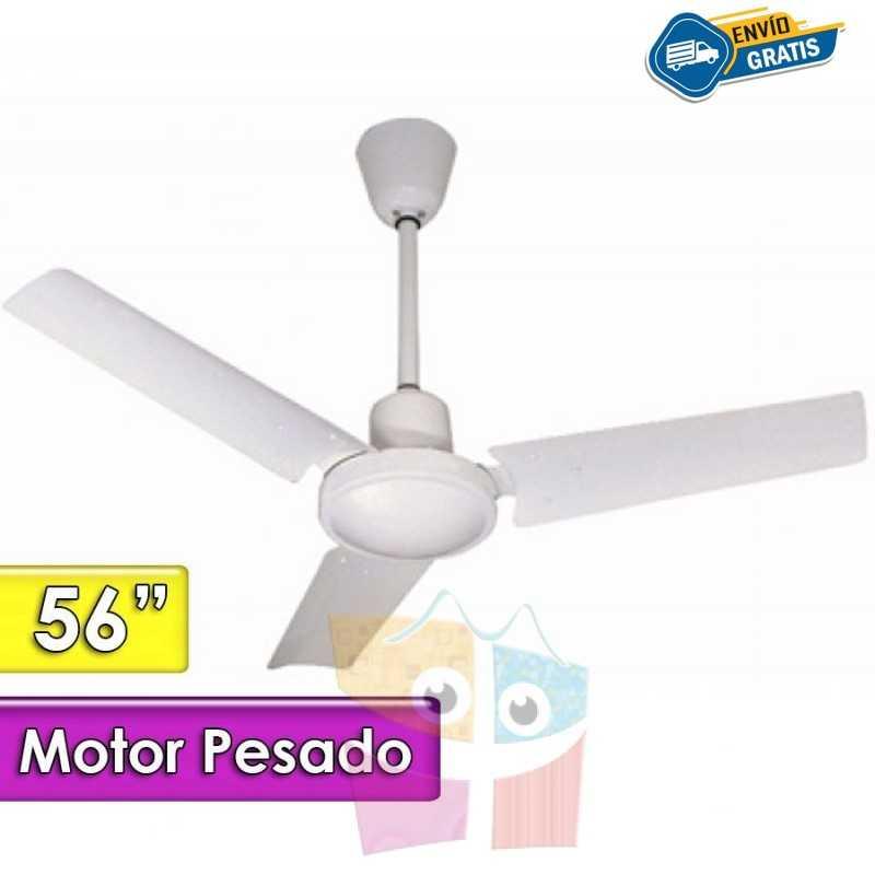 """Ventilador de Techo de 56"""" - SUPER TROPICAL - Motor Pesado"""