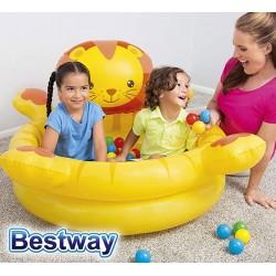 Pelotero Inflable - Bestway - Leon - 52261 + Inflador