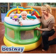 Centro de Juegos Inflable - Bestway - Baby Playpen - 52221 + Inflador