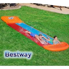 Pista Deslizante - 5,49 Mtr - Bestway - Tobogan de Agua - 52255 + Inflador