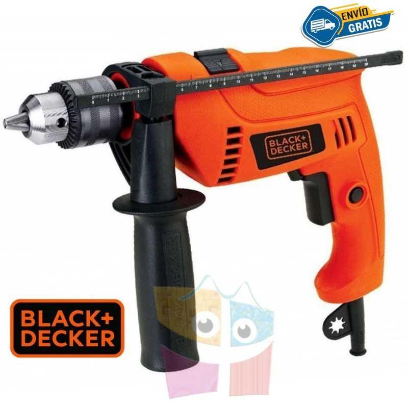Taladro Percutor 13mm - 560W - c/ maletin - Black+Decker - TM555