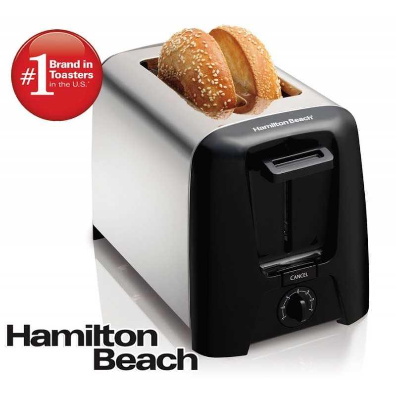 Tostadora de 2 Rebanads - Hamilton Beach - 22614-CL