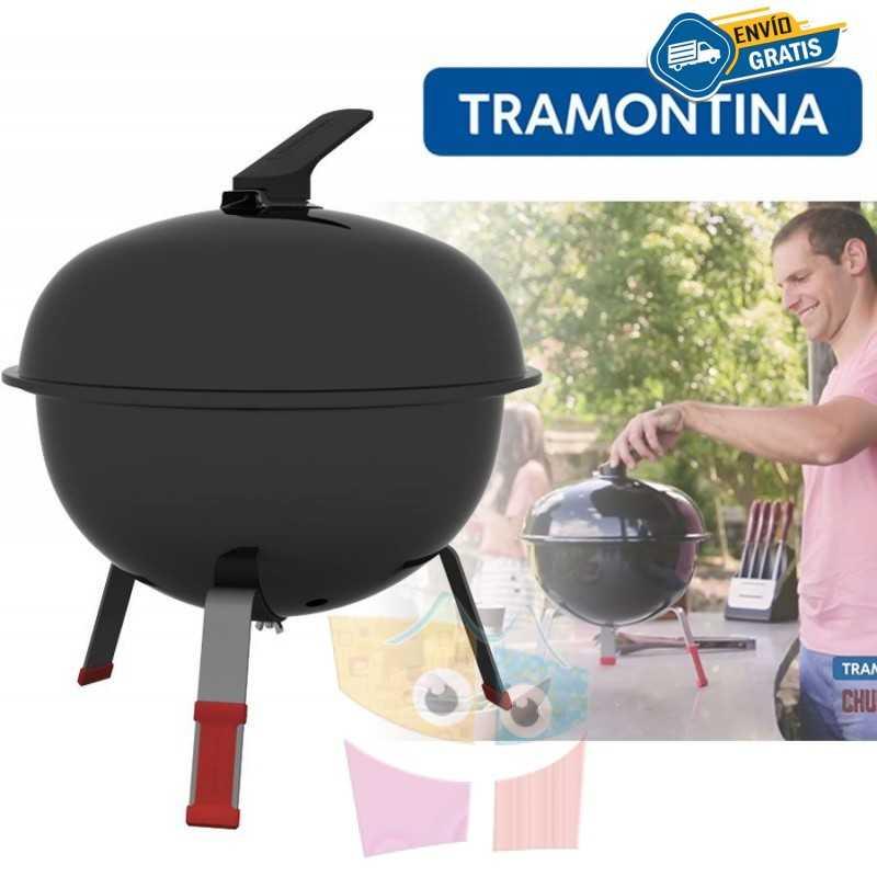 Parrilla Grill a carbon - Tramontina - TCP-320L Con Tapa