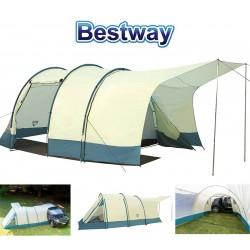 Carpa de Camping - Para 4 personas - 2,2 x 2,8 x 2,0 Mtrs - Bestway - Triptrek X4 Tent