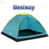 Carpa de Camping - Para 3 personas - 2,1 x 2,1 x 1,3 Mtrs - Bestway - Cooldome 3