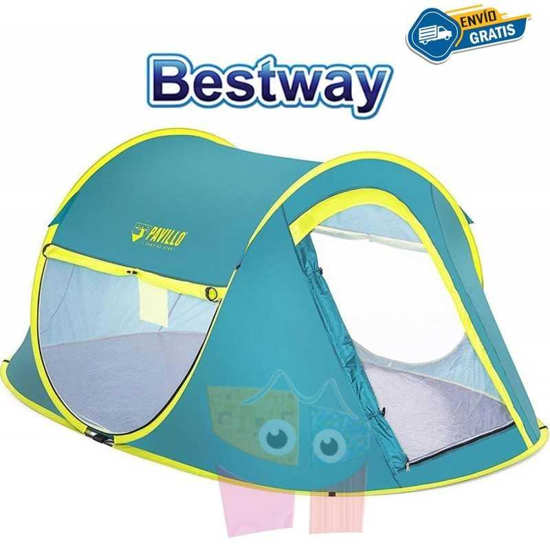 Carpa de Camping - Para 2 personas - 2,3 x 1,4 x 1,0 Mtrs - Bestway - Coolmount 2