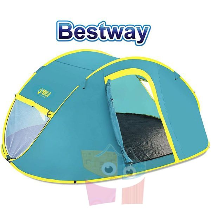 Carpa de Camping - Para 4 personas - 2,1 x 2,4 x 1,0 Mtrs - Bestway - Coolmount 4