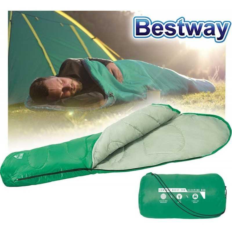 Bolsa de Dormir - 2,2 x 0,75 x 0,5 Mtrs - Bestway - Comfort Quest 200