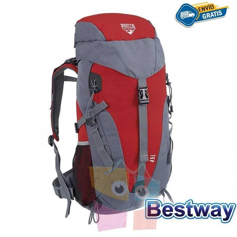Mochila de Camping - 45 Litros - Bestway - Pavillo Dura Trek