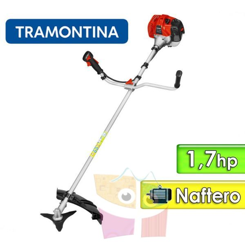 Desmalezadora Motor Naftero 1,7 hp - Tramontina - RC43MTD