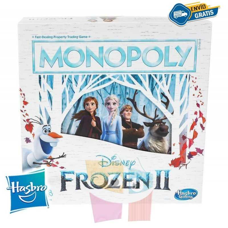 Monopoly Frozen 2 Disney - Hasbro