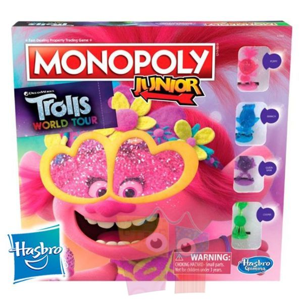 Monopoly Junior Trolls World Tour - Hasbro