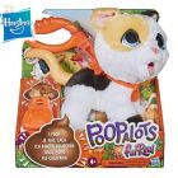 FurReal Poopalots Grandes Paseos - Gatita - Hasbro