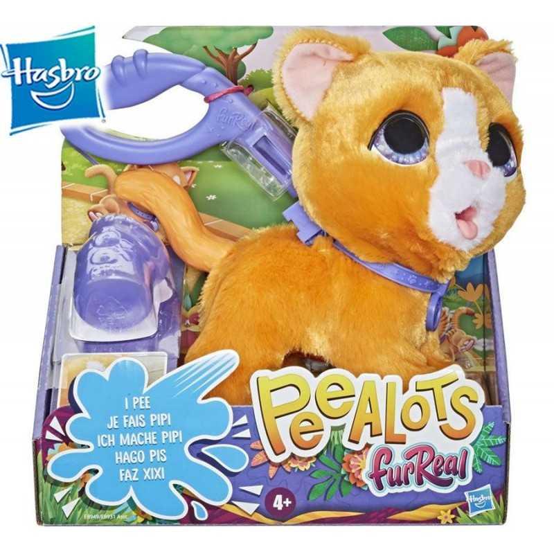 FurReal Peealots Grandes Paseos - Gatito - Hasbro