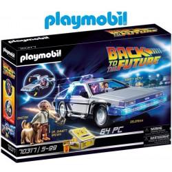 Volver al Futuro - Delorean con Efectos de Luz - Playmobil