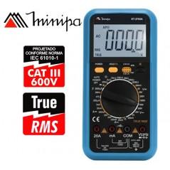 Multimetro Digital - Minipa - ET-2703A - True RMS / VDC 1000V / VAC 750V / ADC 20A / AAC 20A