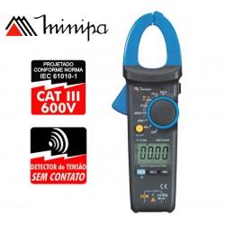 Pinza Amperimetrica - Minipa - ET-3166A - VDC 600V / VAC 600V / ADC 400A