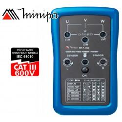 Fasimetro - Minipa - MFA-862 - 690V / 400Hz