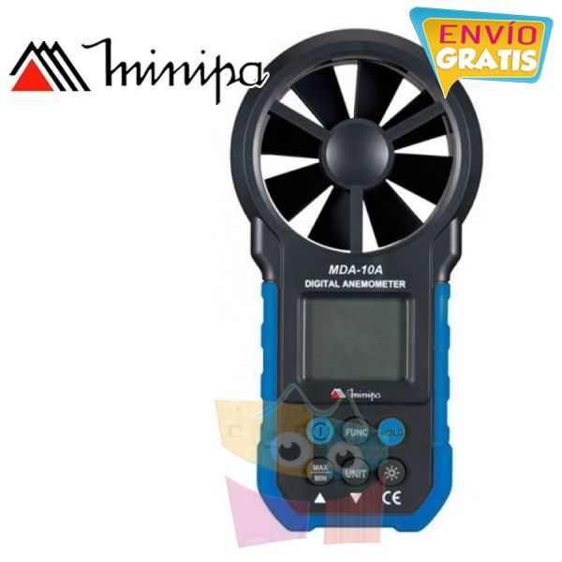 Anemometro Digital - Minipa - MDA-10A