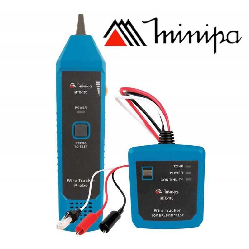 Identificador de Cables - Minipa - MTC-183