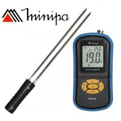 Medidor de Temperatura y Humedad de Granos - Minipa - MTG-640