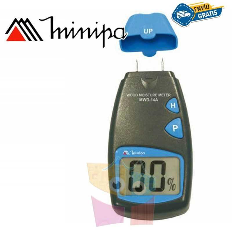 Medidor de Humedad de Madera - Minipa - MWD-14A