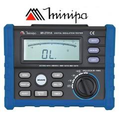 Megohmetro Digital - Minipa - MI-2701A - 10GΩ / 1000V