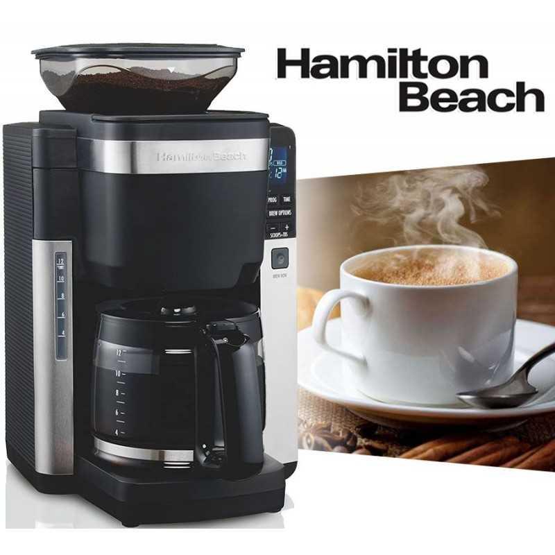 Cafetera Automatica 12 Tazas - Hamilton Beach - 45400-BZ220