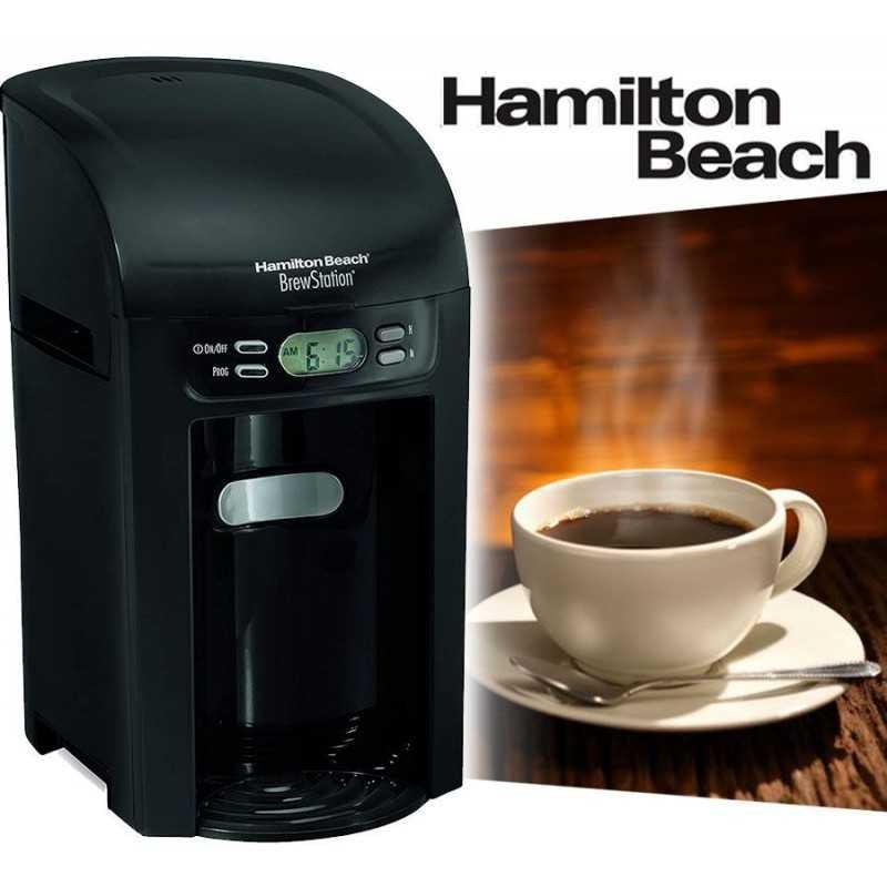 Cafetera Programable - Hamilton Beach - BrewStation 48274-BZ220