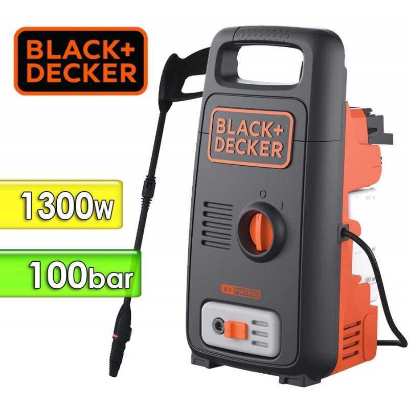 Hidrolavadora 1300W - Presion 100 Bar - Black+Decker - BW13