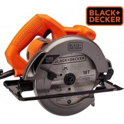 Sierra Circular Ø 185mm 1500W - Black+Decker - CS1024