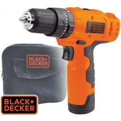 Taladro Atornillador Percutor Inalambrico 10mm - 12V - Black+Decker - HP12