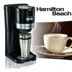 Cafetera con Moledor de Cafe - Hamilton Beach - Moler Colar Servir 49989