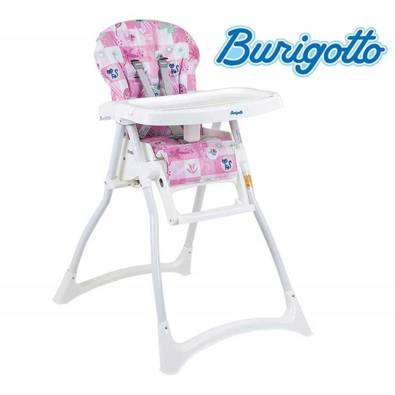 Sillita de alimentación - Burigotto - Merenda - Peixinho Rosa