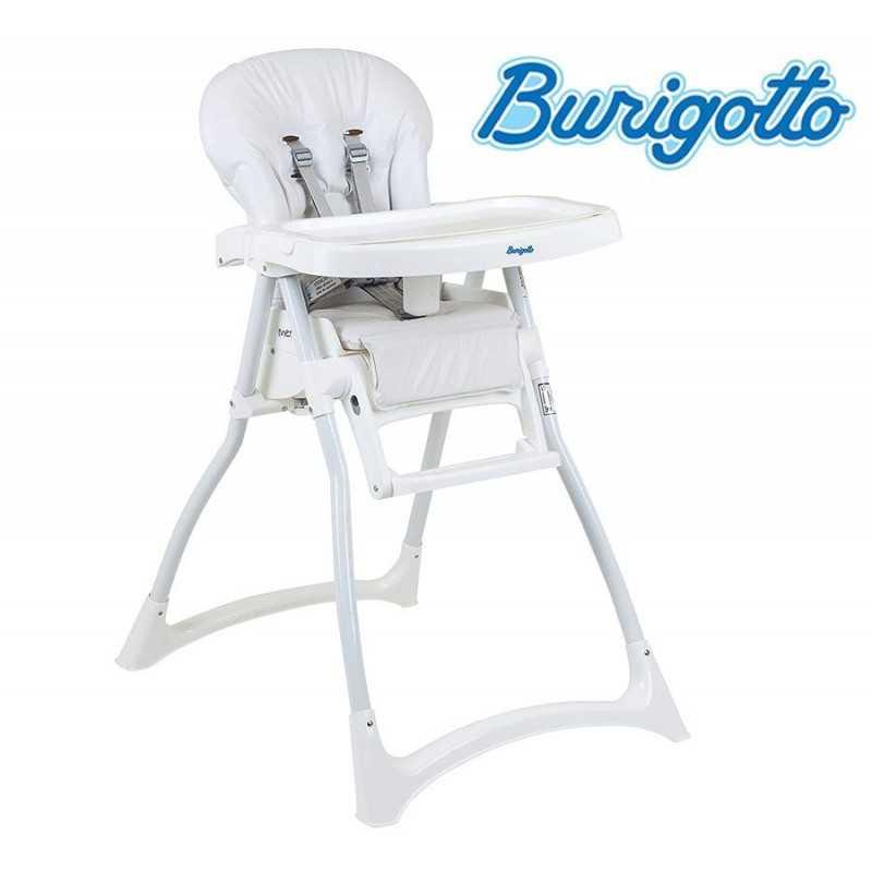 Sillita de alimentación - Burigotto - Merenda - Blanca
