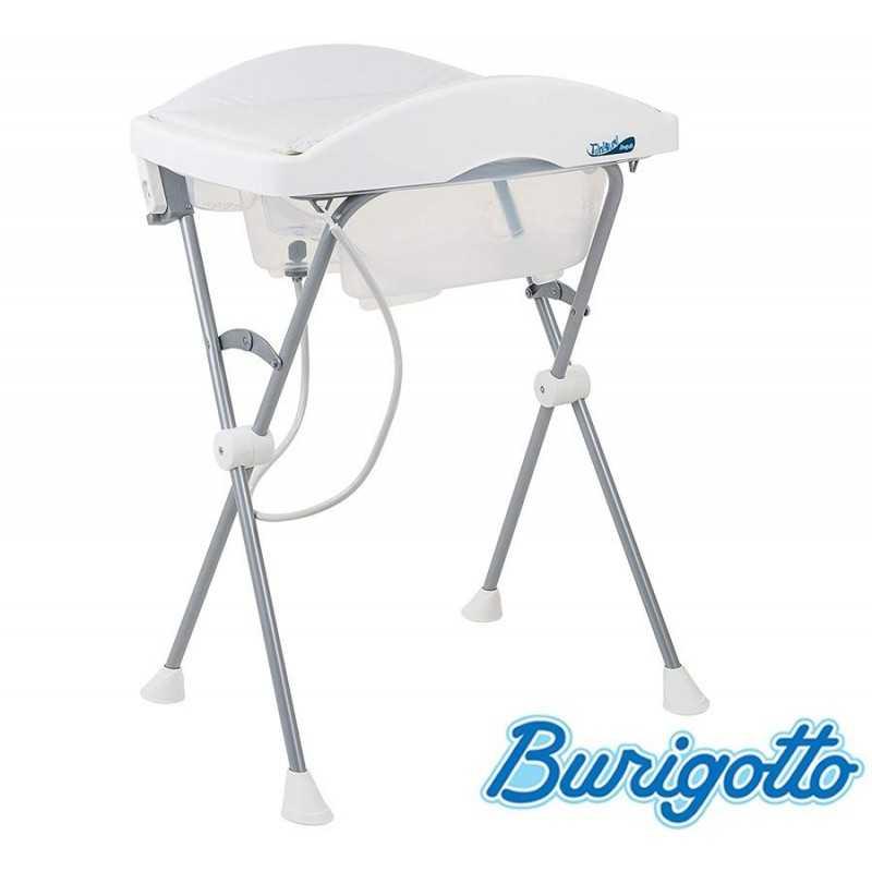 Bañera con Cambiador - Burigotto - Tchibum - Blanco
