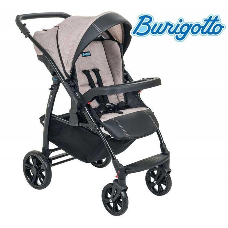 Carrito de bebé - Burigotto - Primus - Mezclado Beige