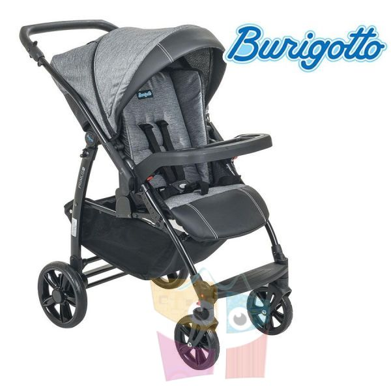 Carrito de bebé - Burigotto - Primus - Mezclado Gris